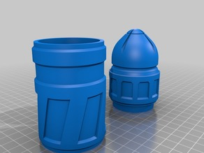 wh40k bolter round container