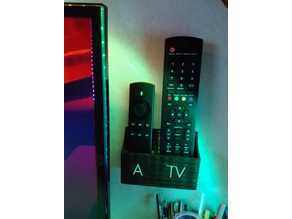 IR-Remote Holder for FireTV + TV