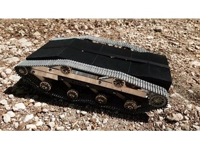 RC Ripsaw pillow, motor mount and body shell