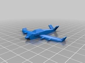 Avion combate personalizado