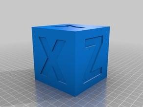 """Calibration Test Cubes """"XYZ"""""""