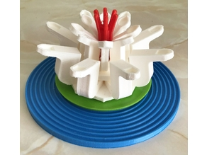 Water Lily (LEGO style)
