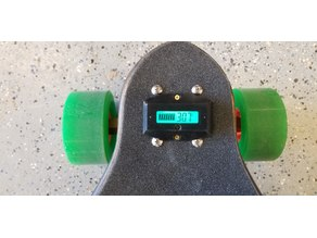 Electric Skateboard Battery Monitor Cover (DROK)