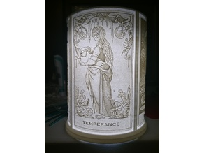 Tarot Card lamp shade