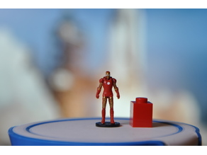 Iron Man 1/87 scale (H0)