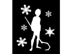 ROTG Jack Frost stencil