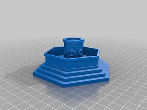 RPG Fountain Hex shaped - OPENFORGE