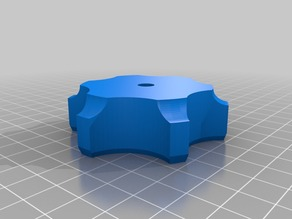 My Customized Parameterized Star Knob for tool