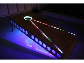 Cornhole LED Trim Ring