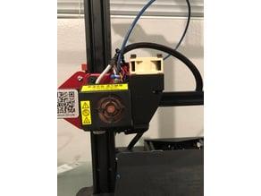 CR10s Pro 40mm fan mount