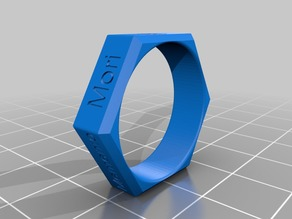 Reverse Engineer's Ring - customized