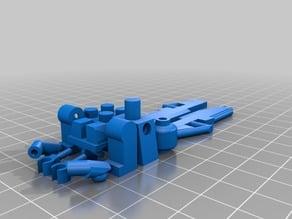 Lego Compatible Minifigure w/2 Halo Assault Rifle