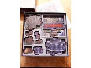Imperial Assault - Base Game Map tile organizers
