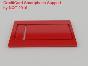 Credit Card Smartphone Supporting