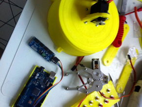Roboticarm fully 3D printable