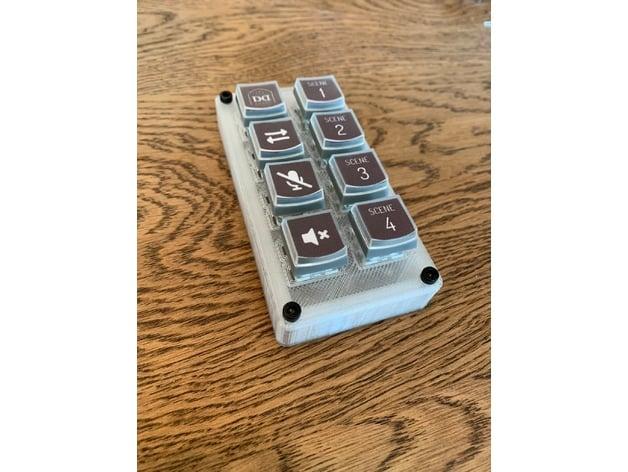 Teensy StreamDeck (Mini Macro Keyboard) by rew1red - Thingiverse