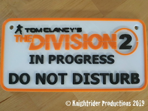 The Division 2 Door Panel