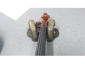 Violin stand. Jehudi Menuhin sign