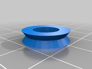 v-groove bearing cover