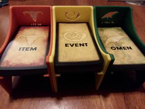 Betrayal Card Holders with Icons and Labels