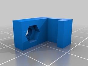 Parameterized TwoUp! (v2) Bed Nut Holder