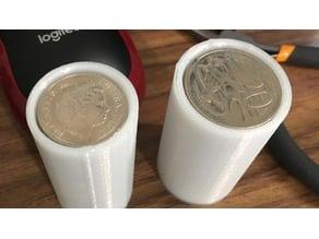 Australian Coin tubes (easy print)