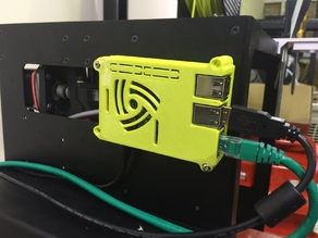 Raspberry Pi Model 3 Case for Lulzbot Mini/Taz 6