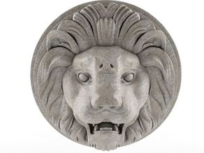 Lion Sculpture Wall Hanger