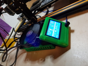 Tuning Creality CR10S to 120mm Fan (Power Supply + Electronic + adjustable Display)