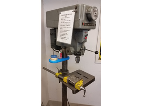 Lube Tray for floor mount drill press (3 inch pedestal)