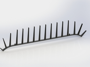 Bird Spikes for Imperial Mailboxes (2014 Version)
