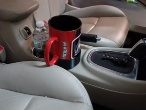 Coffee Cup Holder Offset Adapter for Giant Cup