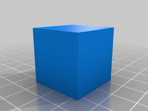 Cubic Crystal Model (Isometric Crystal System)