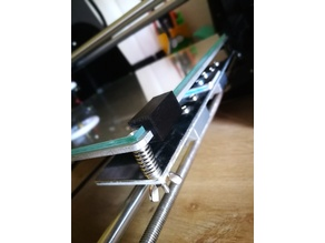 Anet A6 Hotbed Glass Clip