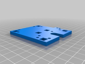 Mounting Plate: J Head Lite and Printrbot V2.1
