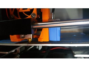 anet A6 - Fan Duct and Auto Level Sensor Mount