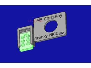 Tronxy P802MA sensor mount