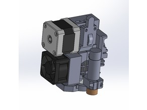 Iteration of Prusa MK2S extruder