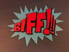 Batman BIFF!!!