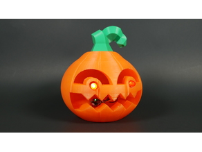 Jack: The 3D Printed, Blinking Jack-O'-Lantern