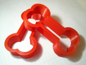 Bone cookie cutter