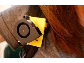 Parametric Wearable Clip Fan