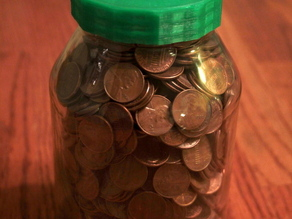 Coin Slot Lid for Canning Jar