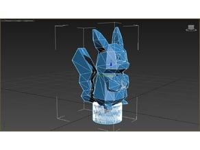 CR10 Pikachu Filament spinner / Filament Flag