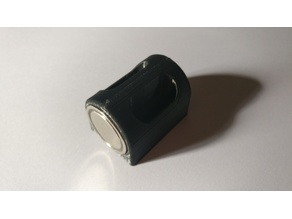 Magnet holder (fit for the 22kg round neodymium magnet dia 25mm)