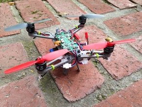 Printable Quad Rotor Frame for Blade QX200
