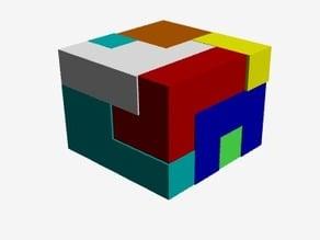 Tetris Prism Puzzle