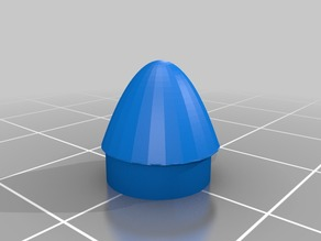 rocket nose cone for model rocket