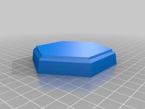 experimental hexagon miniature base