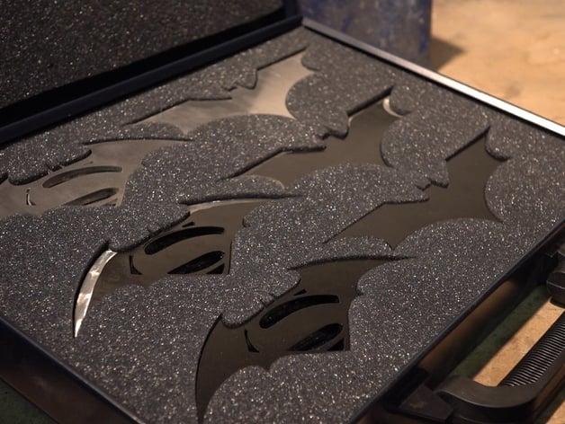 laser cut batarangs by thehacksmith thingiverse